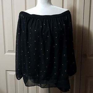 Maurices off the shoulder blouse
